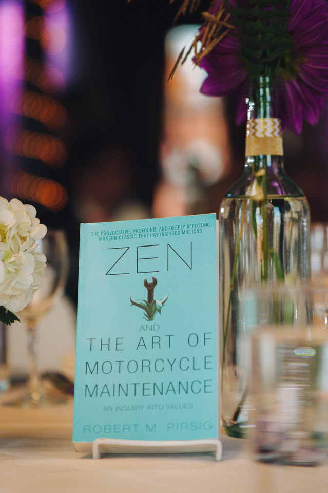 Photo of book: Zen and the art of motorcycle maintenance