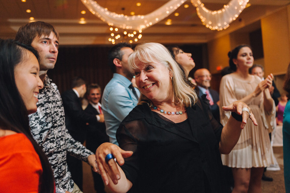 Dancing at Iranian wedding at Chateau Bromont 03