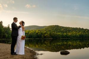 Mont Saint-Hilaire wedding photos