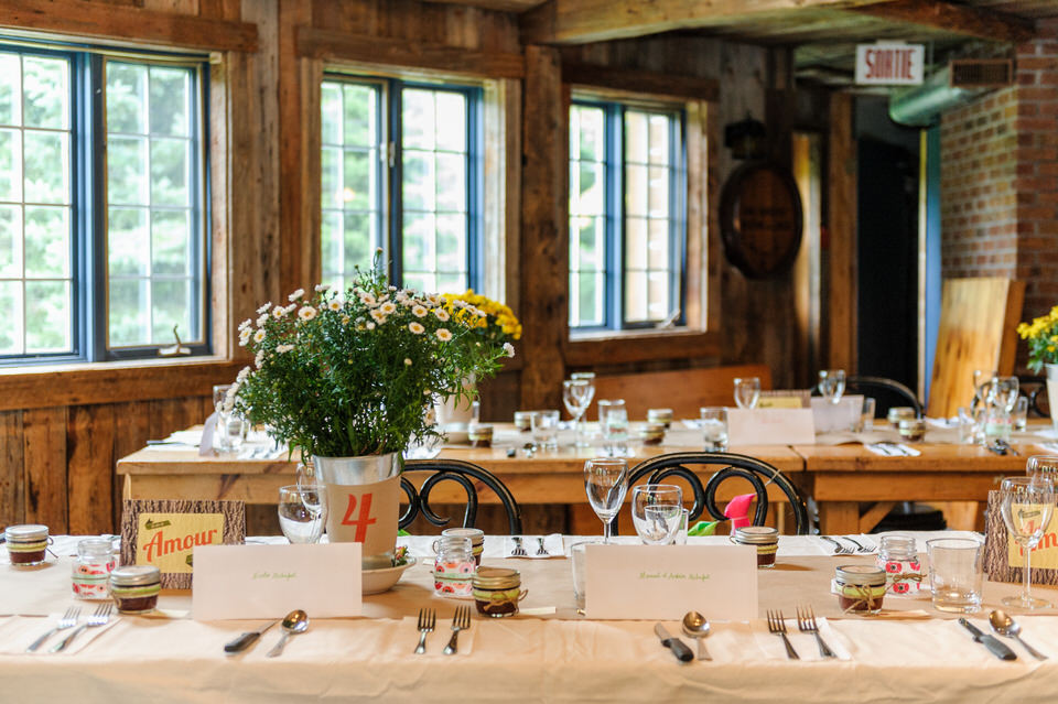 Rustic wedding at Haut Bois Normand