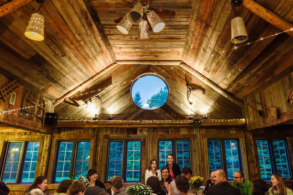 Réception de mariage à la Cabane à sucre Haut-Bois Normand