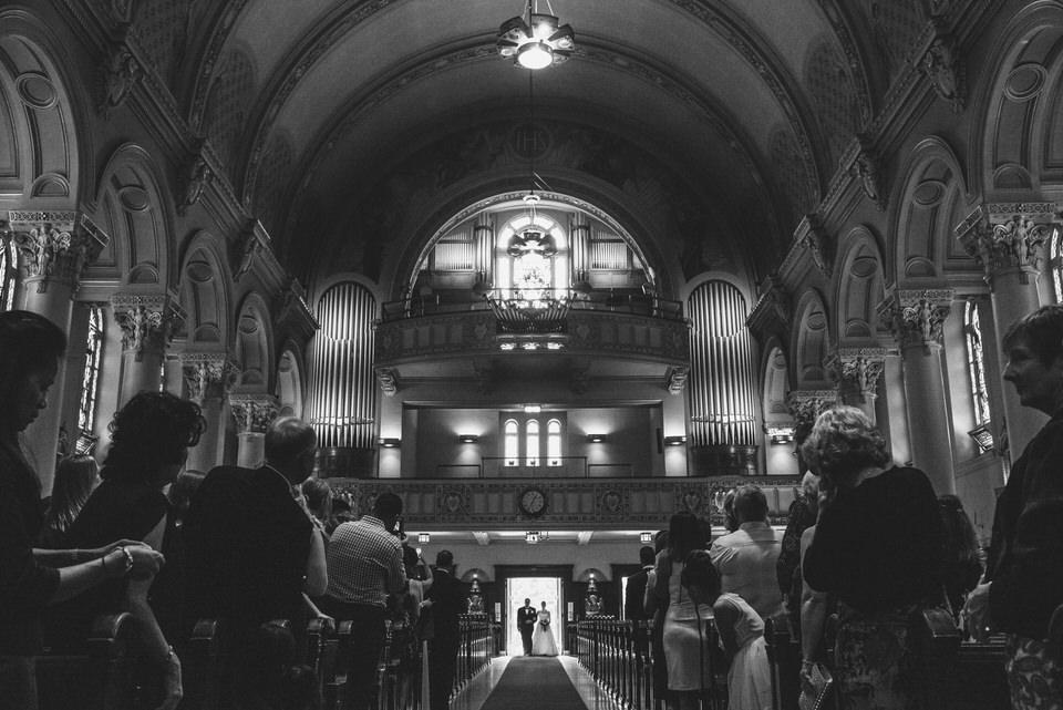 Wedding at Lachine Saint-Anges church