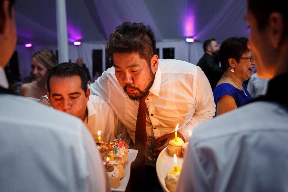 Birthdays of wedding guests