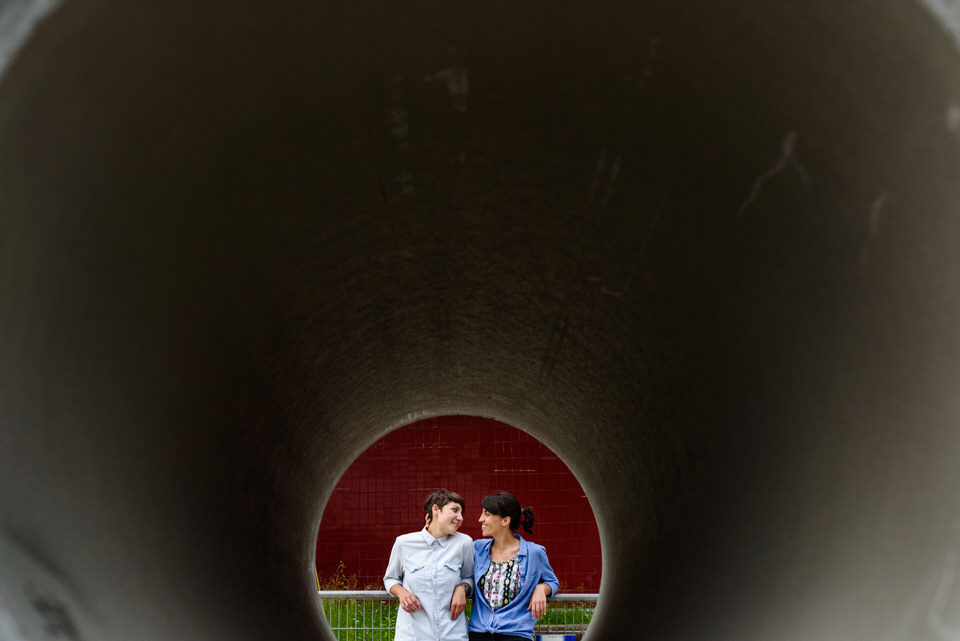 LGBT engagement photographer in Montreal