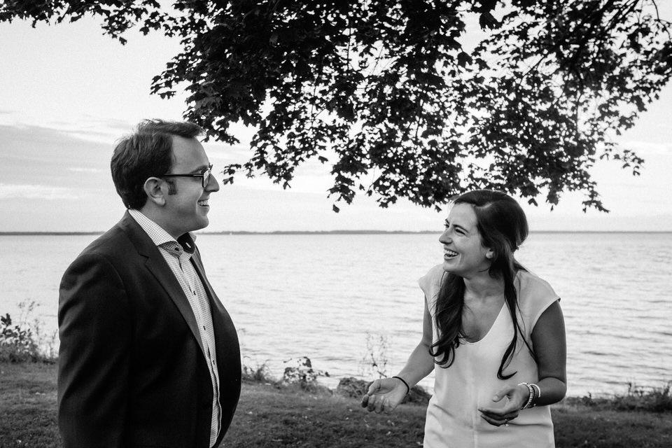 Emotional surprise proposal reaction