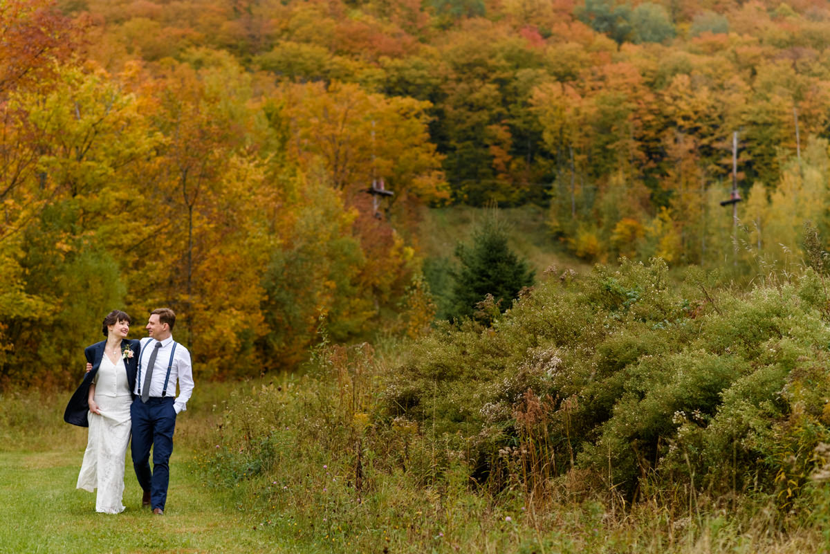 Autumn wedding photos at Haut Bois Normand