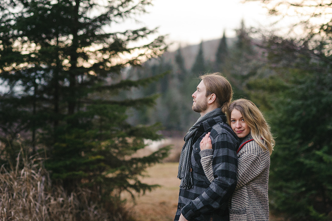 Mont Tremblant engagement photos