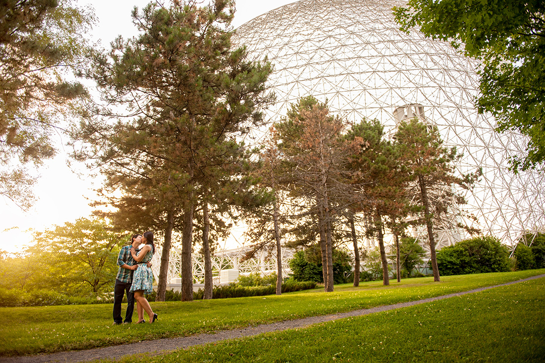 BiosphereengagementportraitsatParcJean Drapeau,Montreal