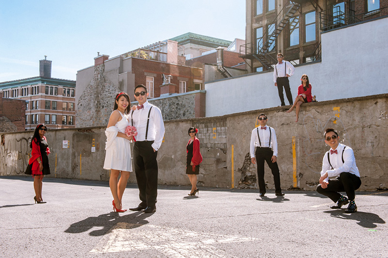 Montreal wedding photographer review