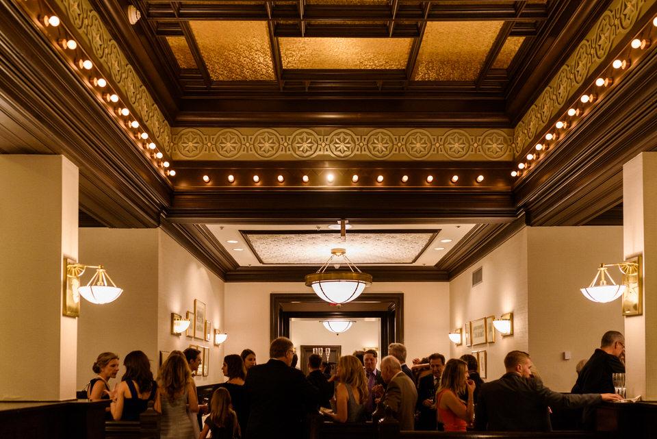 Intercontinental Montreal Wedding reception