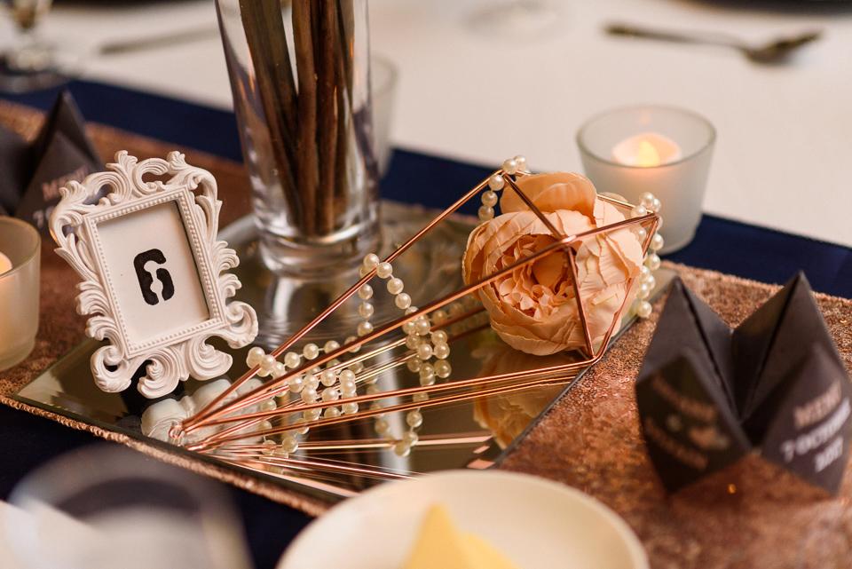 Wedding decor details at Hotel Nelligan wedding 09