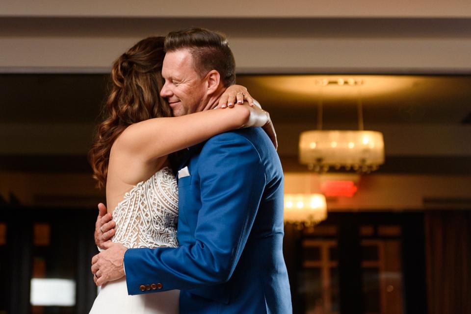 First dance at Hotel Nelligan wedding 01