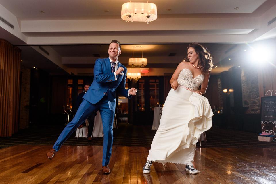 First dance at Hotel Nelligan wedding 03