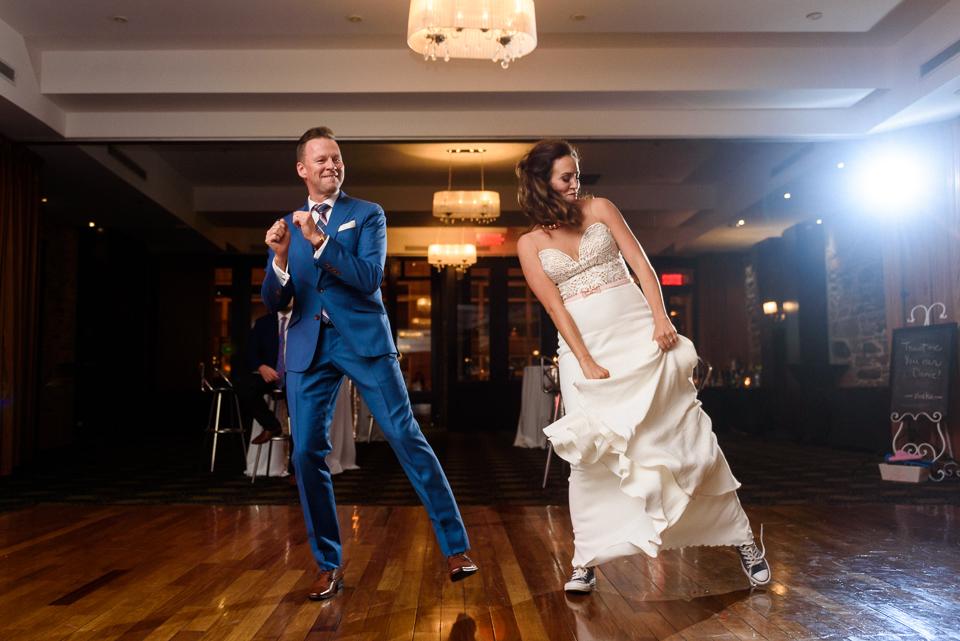 First dance at Hotel Nelligan wedding 04
