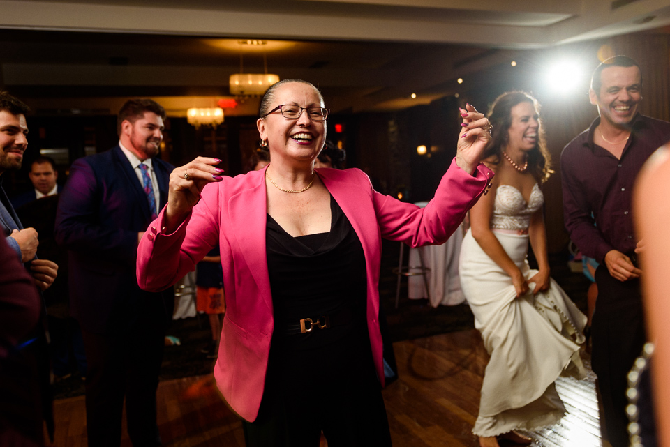 Guests dancing at wedding reception 01
