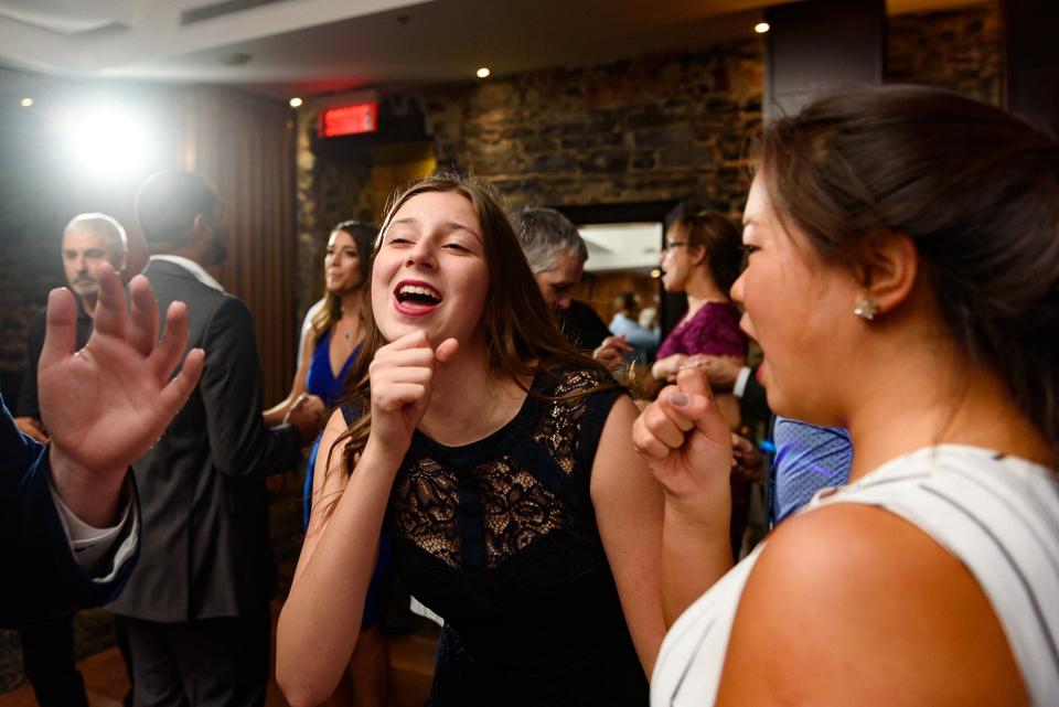 Guests dancing at wedding reception 02