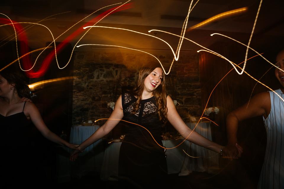 Guests dancing at wedding reception 03
