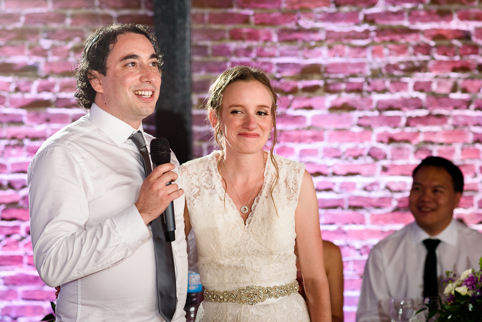 Thank you speech from wedding couple