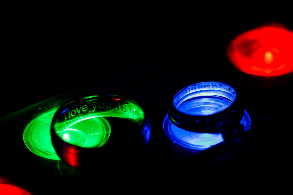 Rings on LEDs