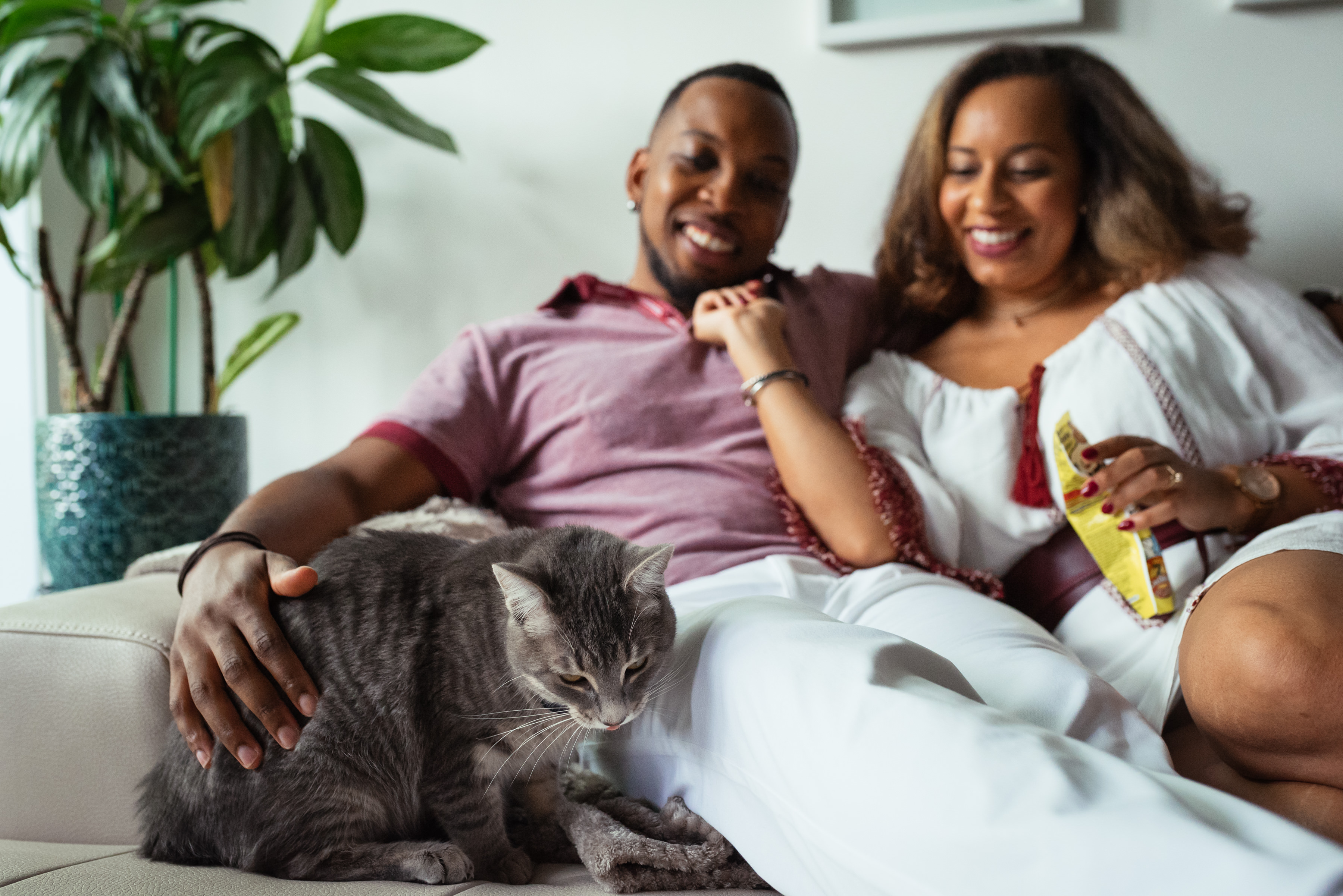 Engagement photos with cats 02