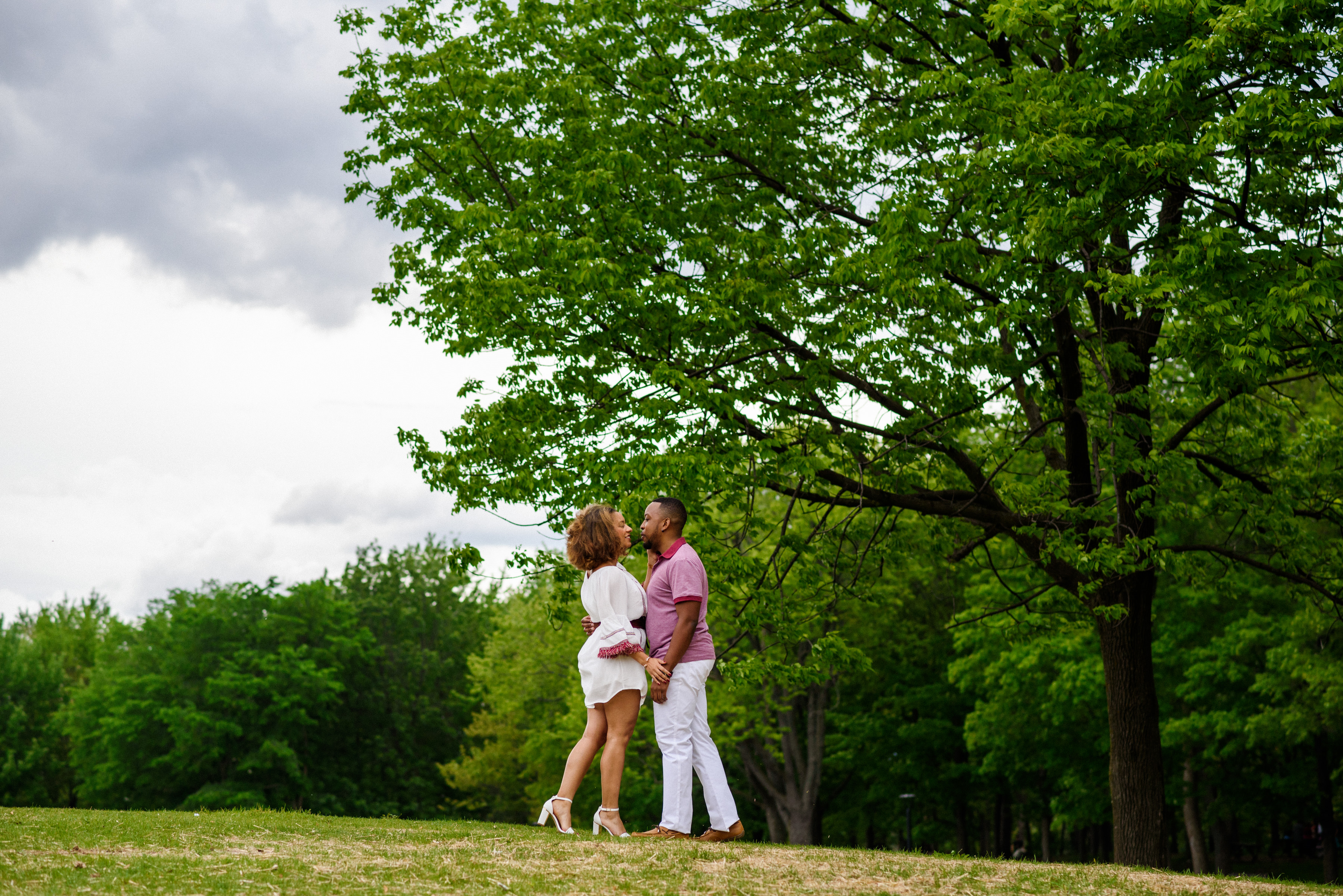Couple at Mount Royal Park