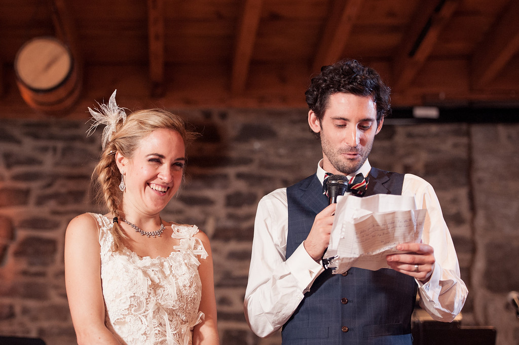 Thank you speech from bride and groom